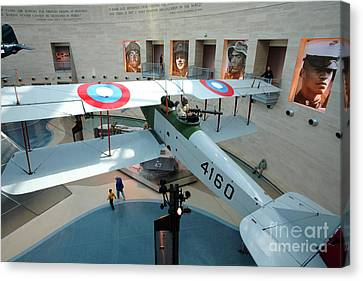 Under The Jenny At The Marine Corps Museum Canvas Print