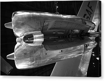 Under The Jet Engine Canvas Print by Dan Sproul