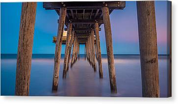 Under The Pier - Wide Version Canvas Print