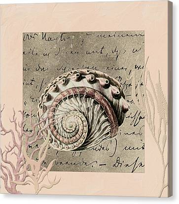 Under The Sea Canvas Print by Bonnie Bruno