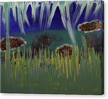 Under The Sea Canvas Print by Donna Guzman