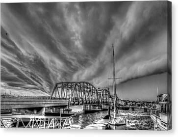 Under The Storm Canvas Print