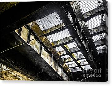 Under The Street Canvas Print
