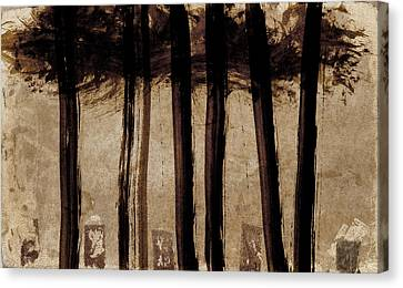 Under The Trees Canvas Print