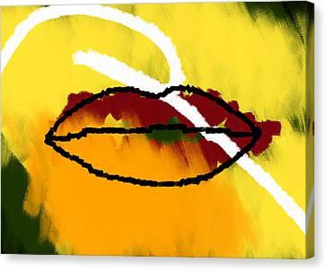 Under Your Breath Canvas Print by Condor
