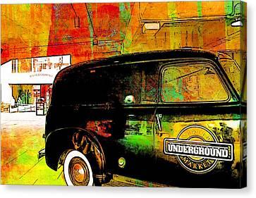 Underground Atlanta Georgia Canvas Print