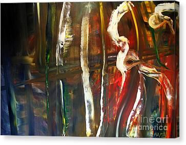 The Void Canvas Print - Undergrowth Iv by James Lavott