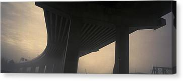 Underneath Decaying Decarie Autoroute Canvas Print by Roderick Chen