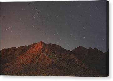 Underneath The Same Big Sky Canvas Print by Laurie Search