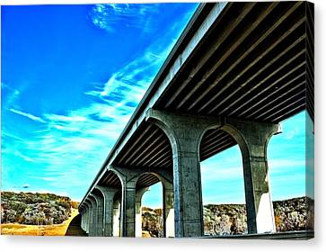 Underpass Canvas Print by Dennis Lundell