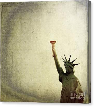 Understanding Liberty Canvas Print