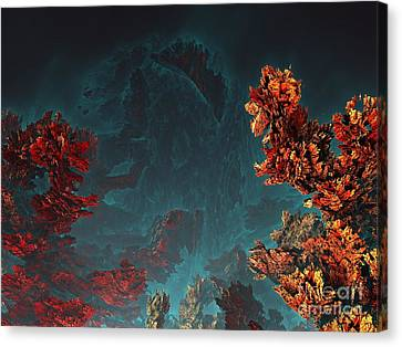 Underwater 5 Canvas Print by Bernard MICHEL