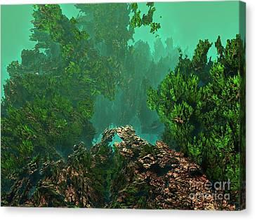 Underwater 8 Canvas Print by Bernard MICHEL