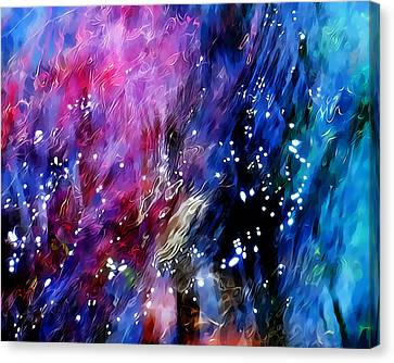 Underwater Galaxy Canvas Print by Terril Heilman