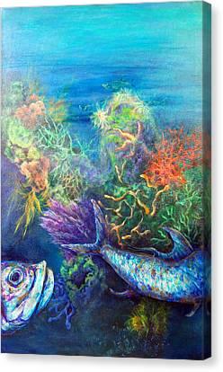 Jesus Reef  Canvas Print