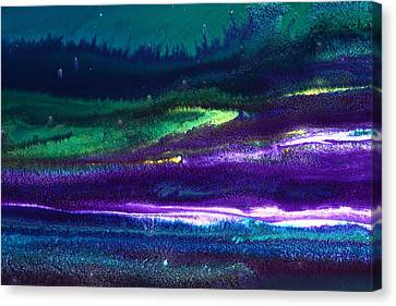 Underwater Landscape Abstract Canvas Print by Serg Wiaderny