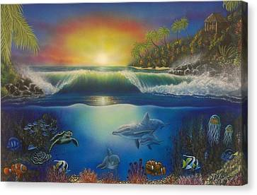 Underwater Paradise Canvas Print by Darren Robinson