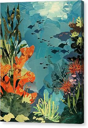 Underwater Canvas Print by Robin Birrell