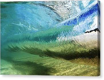 Hawaii Canvas Print - Underwater Wave Curl by Vince Cavataio - Printscapes