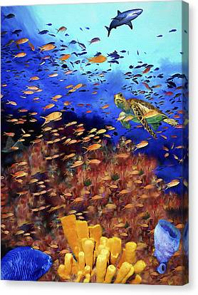 Underwater Wonderland Canvas Print