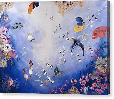 Underwater World Iv  Canvas Print