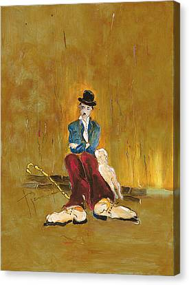 Une Vie De Chien - Orig. For Sale Canvas Print