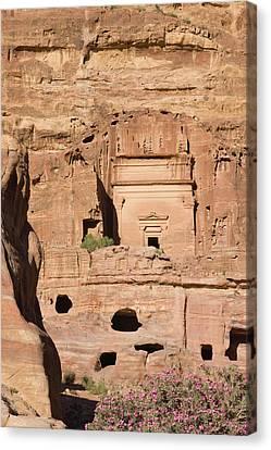 Uneishu Tomb, Petra, Jordan (unesco Canvas Print by Keren Su