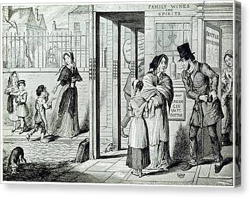 Unemployed Canvas Print by British Library