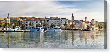 Unesco Town Of Trogit View Canvas Print