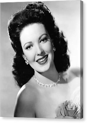 Sturges Canvas Print - Unfaithfully Yours, Linda Darnell by Everett