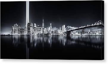 Unforgettable 9-11 Canvas Print by Javier De La