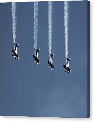 Unimaginably High G-forces Canvas Print by Ramabhadran Thirupattur