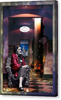 Uninvited Guest Canvas Print