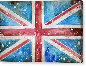 Union Jack Canvas Print by Sean Parnell
