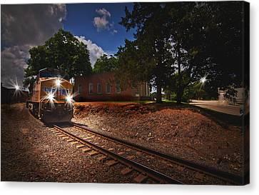 Union Pacific 7917 Train Canvas Print