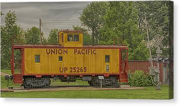 Union Pacific Caboose New Haven Mo Dsc00480 Canvas Print