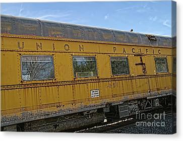 Union Pacific Canvas Print by Peggy Hughes
