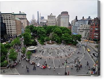 Union Square, N.y.c Canvas Print