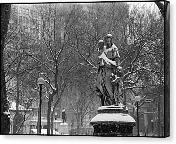 Union Square Park Canvas Print