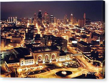 Union Station Night Canvas Print