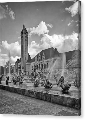 Union Station - St Louis Canvas Print by Harold Rau