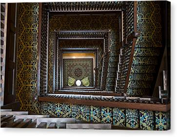 Union Station Stairway Canvas Print