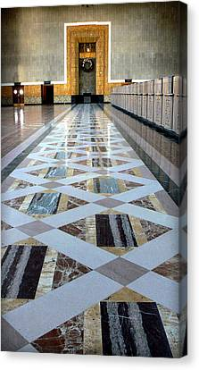 Union Station Ticket Counter Canvas Print