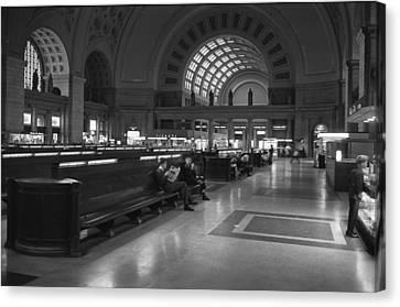 Union Station Washington D.c. - 1963 Canvas Print