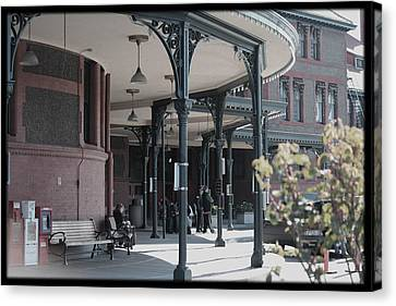 Union Street Station Canvas Print by Patricia Babbitt