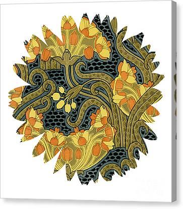 Unique Flower Canvas Print