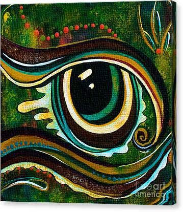 Unique Spirit Eye Canvas Print