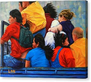 United, Peru Impression Canvas Print