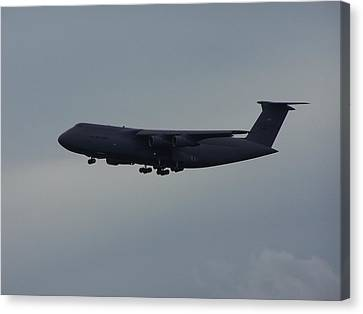 Canvas Print featuring the photograph United State Air Force by Michele Kaiser