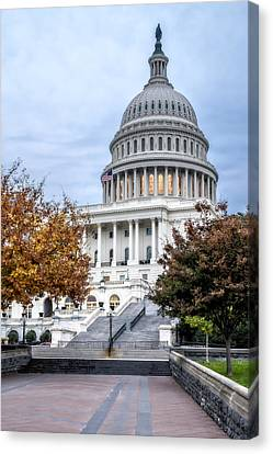 United States Capitol Canvas Print by Susan Candelario